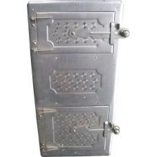 Дверца металлическая цельная (спареная) 265*480 мм Водолей ЯП