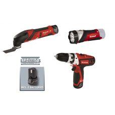 Набор аккумуляторных инструментов Einhell TE-TK 12 Li 4257191