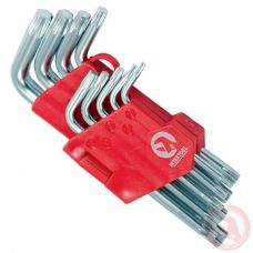 Набор Г-образных ключей Cr-V Small Intertool HT-0607