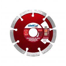 Круг алмазный для расшивки швов Profi 125 22.23 мм WellCut MR-125/22