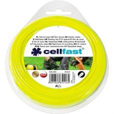 Леска для триммера Cellfast 1.3 мм 15 м квадратная 35-010
