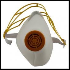 Респиратор У2К высший сорт  белый цвет наголовник пластик DR-0002