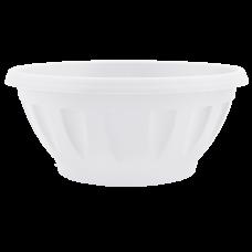 Вазон «Жанна» c подставкой 12*6 см 0,3 л (белый) Алеана 112082