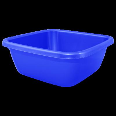 Таз квадратный 9 л (синий) Алеана 121043