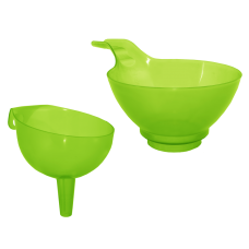 Воронка 9 см (салатовый прозрачный) Алеана 168062