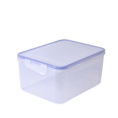 Контейнер для пищевых продуктов прямоугольный с зажимом 4 л Алеана 167044