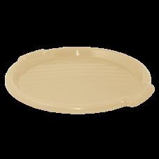 Поднос круглый 39 см (бежевый) Алеана 167098