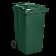 Бак мусорный для ТБО 240 л (зеленый) Алеана 122068
