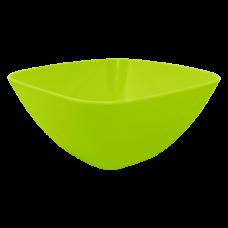 Салатница 180*180*75 мм 1 л (оливковый) Алеана 168002