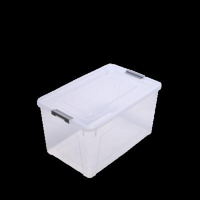 Контейнер для хранения Smart Box 40 л (прозрачный/серый) Алеана 123086
