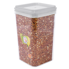 Емкость для сыпучих продуктов 2,25 л (прозрачный) Алеана 168026