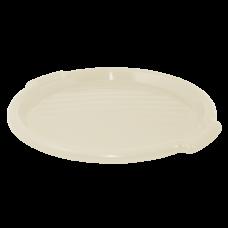 Поднос круглый 39 см (светлый бежевый) Алеана 167098
