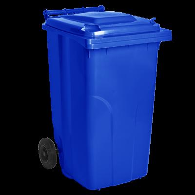 Бак мусорный для ТБО 240 л (синий) Алеана 122068