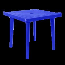 Стол квадратный 80х80 см (синий) Алеана 100012