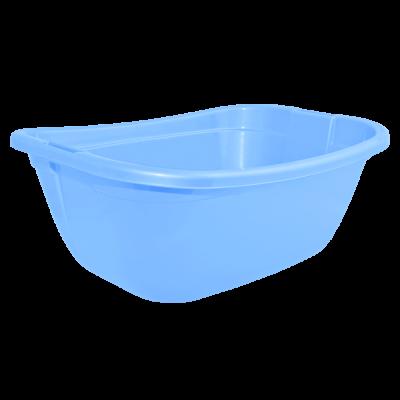 Таз прямокутный 22 л (голубой) Алеана 121035