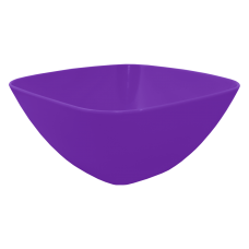 Салатница 180*180*75 мм 1 л (сиреневый) Алеана 168002