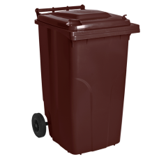 Бак мусорный для ТБО 240 л (коричневый) Алеана 122068