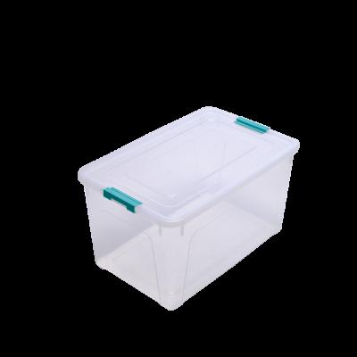 Контейнер для хранения Smart Box 0,8 л (прозрачный/бирюзовый) Алеана 123079