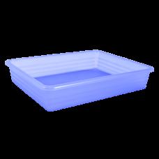 Лоток универсальный 24,8*19*6 см (фиолетовый прозрачный) Алеана 122081