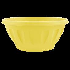 Вазон «Жанна» c подставкой 20*8 см 1,3 л (жёлтый) Алеана 112084