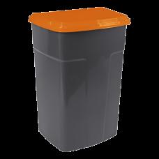 Бак мусорный 90 л (оранжевый) Алеана 122062
