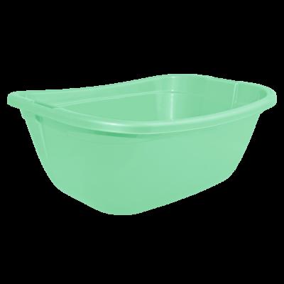 Таз прямокутный 22 л (салатовый) Алеана 121035
