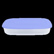 Контейнер для пищевых продуктов прямоугольный 0,95 л (сиреневый/прозрачный) Алеана 167023