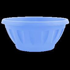Вазон «Жанна» c подставкой 24*11 см 2,6 л (голубой) Алеана 112085