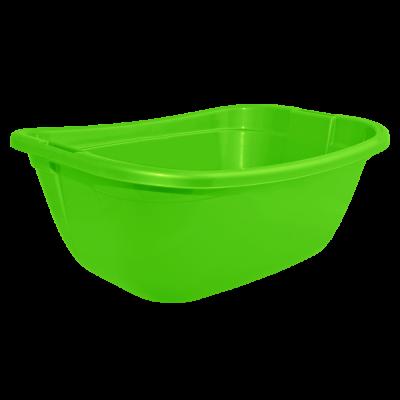 Таз прямокутный 22 л (светло-зеленый) Алеана 121035