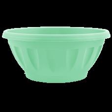 Вазон «Жанна» c подставкой 20*8 см 1,3 л (салатовый) Алеана 112084