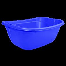 Таз прямокутный 22 л (синий) Алеана 121035