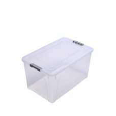 Контейнер для хранения Smart Box 27 л (прозрачный/серый) Алеана 123085