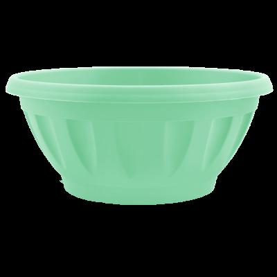 Вазон «Жанна» c подставкой 16*7,5 см 0,7 л (салатовый) Алеана 112083