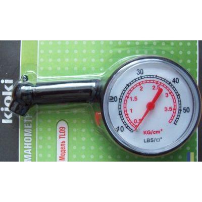 Манометр пластиковый TL 09, 4 кг/см