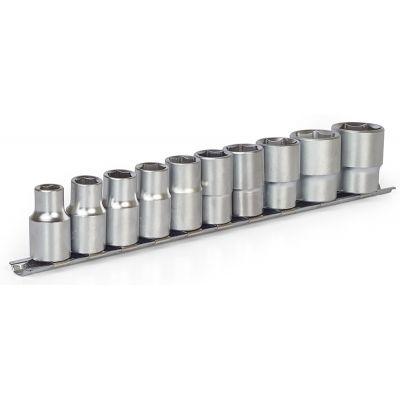 Набор головок торцевых на планке Crv 10-24 мм Миол 58-410