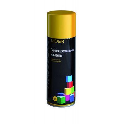 Аэрозоль эмаль Lider универсальная (темное золото) 400 мл 1036