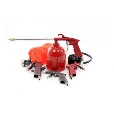 Набор покрасочный пневматический 5 предметов INTERTOOL PT-1501