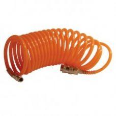 Шланг спиральный с быстроразъемным соединением 10м Интертул PT-1704