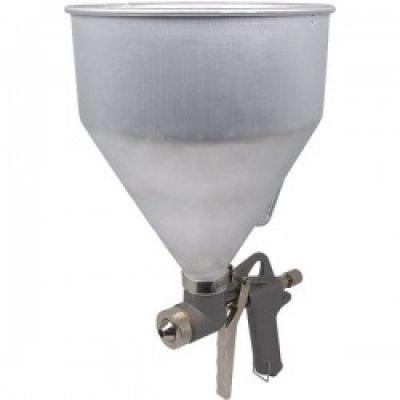 Пневмопистолет для нанесения цемента с алюминиевым баком Миол 81-562