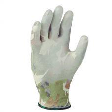 Перчатки трикотажные с неполным полиуретановым покрытием Doloni 4551