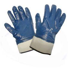 Перчатки нитриловые с полным покрытием твердый манжет Doloni 851