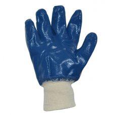 Перчатки  нитриловое покрытие манжет Doloni 850