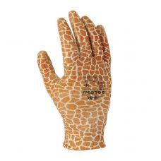 Трикотажные перчатки с нитриловым покрытием Doloni 4553