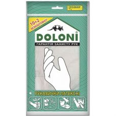 Перчатки Doloni латексные без пудры Doloni 4559