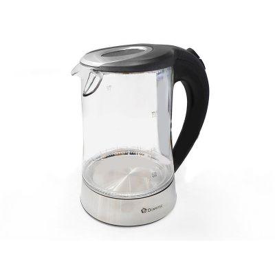 Электрический чайник (электрочайник) стеклянный 2 л Domotec DT-704