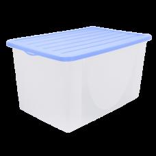 Емкость для хранения вещей с крышкой 22 л (сиреневый) Алеана 122042