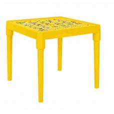 Стол детский Абетка українська (темно-желтый) Алеана 100027