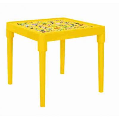 Стол детский Абетка англійська (темно-желтый) Алеана 100028