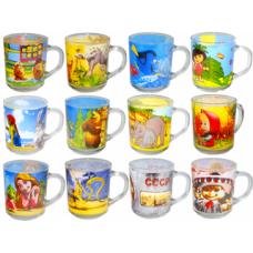 Чашка стеклянная Детская 9305