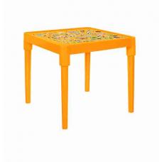 Стол детский Абетка українська (светло-оранжевый) Алеана 100027
